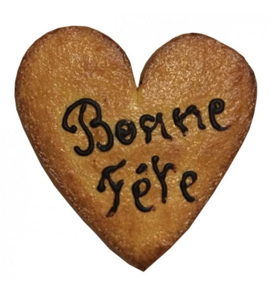 """Coeur """"Bonne fête"""""""