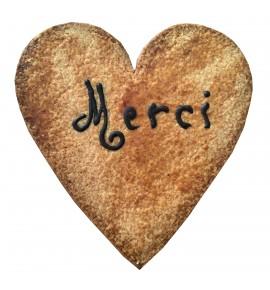 "Gâteau Coeur ""Merci"""