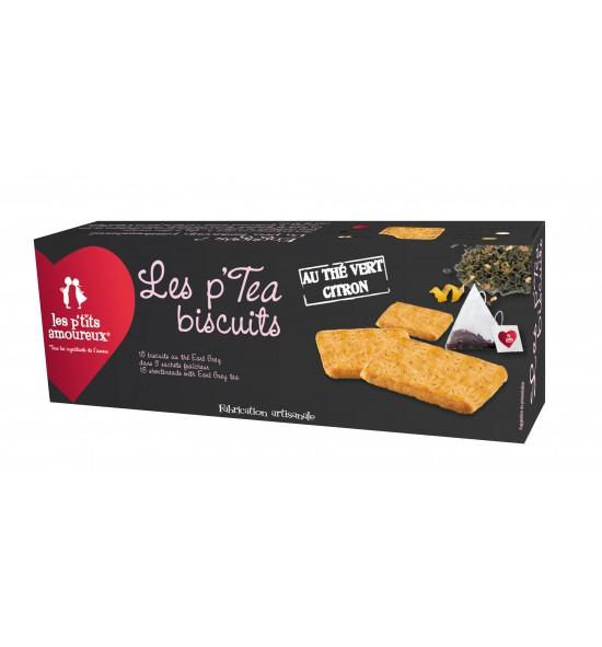 P'tea Biscuits au thé vert citron