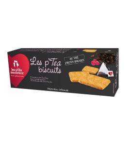 P'tea Biscuits au thé noir fruits rouges