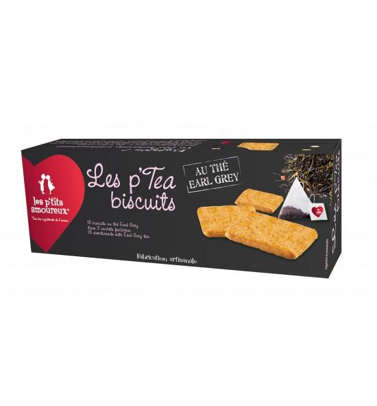 P'tea Biscuits au thé earl grey