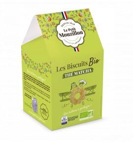Les Biscuits BIO au thé Matcha
