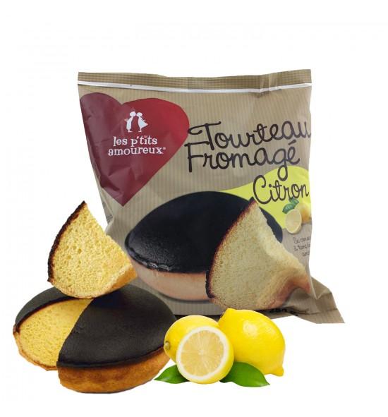 Tourteau fromagé citron